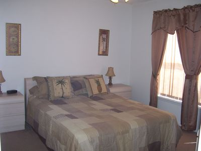Clear Creek villa rental - Bedroom 2 with queen size bed