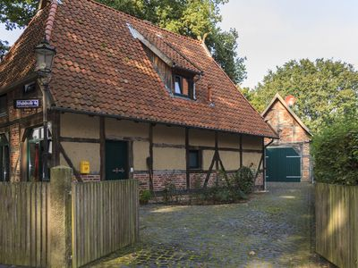 Rental sheep barn / Fachwerhaus restored with a large garden