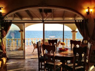 Puerto Penasco house photo - Beautiful dining inside or out.