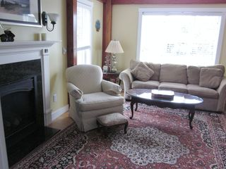 New Seabury house photo - living room with queen sleeper
