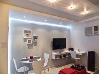 Isla Verde apartment photo - WHITE leds around walls. All Lights controlled by dimmers for ROMANTIC purposes.