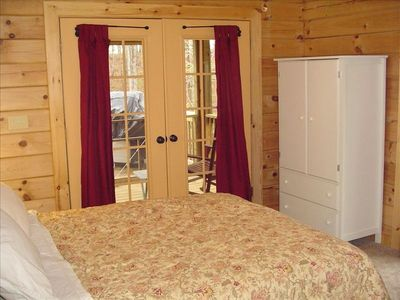 Perfectly decorated second bedroom with private, screend porch - more ahh!