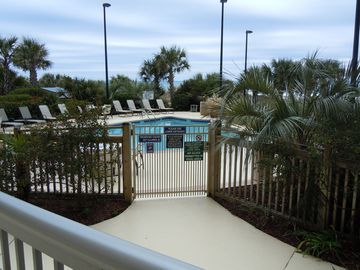 One of the private Margate pools