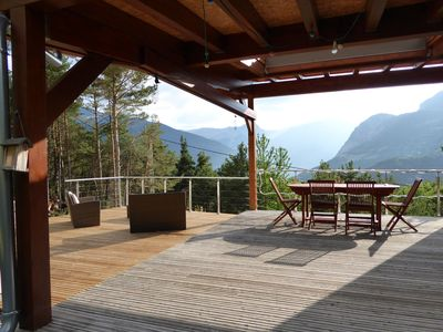 CONTEMPORARY CHALET IN THE HEART OF CLOSE UBAYE BARCELONNETTE PRALOUP,