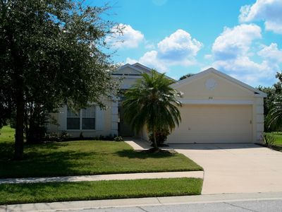 Bradenton villa rental - front view