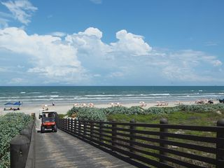 Port Aransas condo photo - View of Dune Crossover