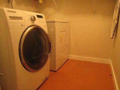 Laundry Room with Dryer & Brand New Washer