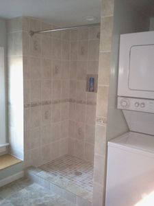 Madison apartment rental - Brand new bathroom! Lots of room and place to do laundry too.