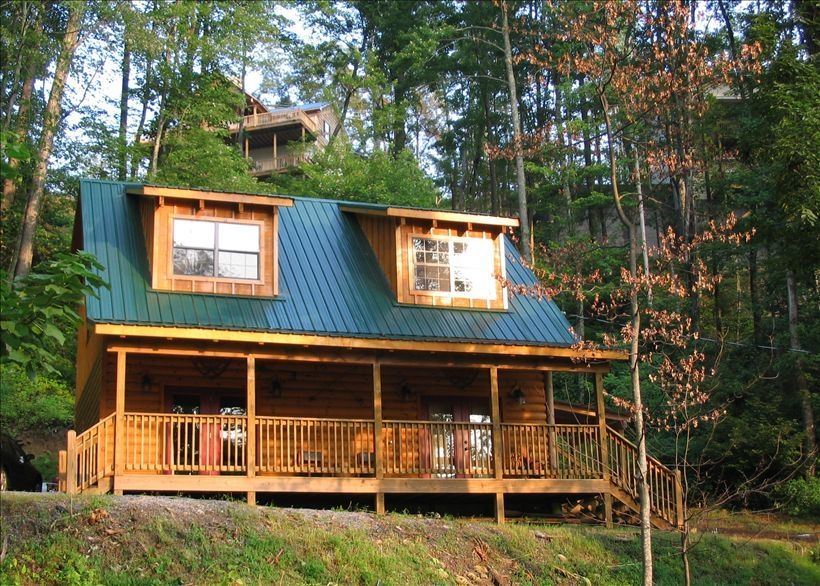 Casetta di legno per 8 persone a gatlinburg 135436 for Cabina di brezza autunnale gatlinburg