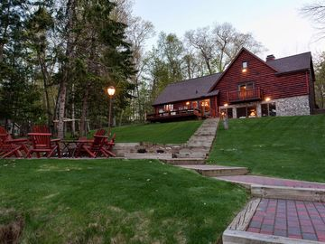 Eagle River house rental - Fire Pit and Grounds