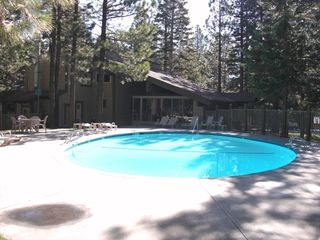 Mammoth Lakes condo photo - Heated pool seasonal.
