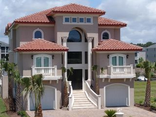 Cherry Grove Beach estate photo - Beautiful Mediterranean Luxury Rental.