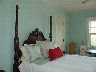 Sheboygan house photo - Master Bedroom with Adjoining Bath