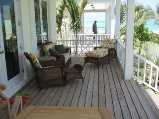 Treasure Cay house photo - Relax on the porch