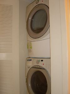 washer/dryer in condo