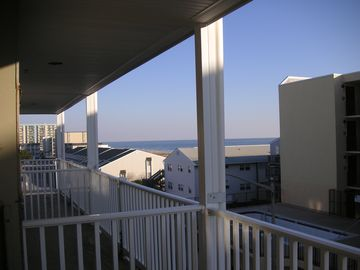 North Ocean City condo rental - Balcony