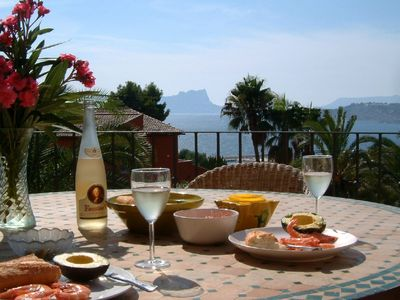 Moraira villa, Ab Fab seaviews, 5-10 min easy stroll town & beaches