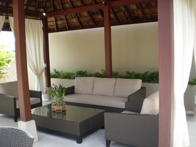 Exotic and comfortable roof top sala