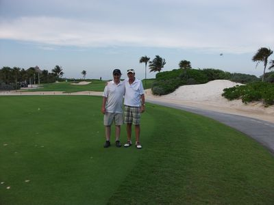 Puerto Morelos condo rental - On a golf course near by