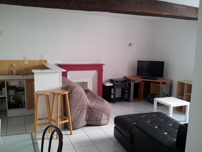 95 sq.m, with 1 bedroom, living room with sofa bed, terrace, patio, and Internet