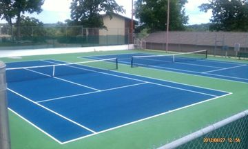 Pointe Royale Professional Tennis Courts, bring your racquets.