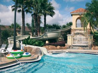 Regal Palms townhome photo - Try the waterslide! It's fun for everyone!