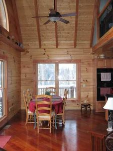 Hot Springs cabin rental - Craftsman Log Home