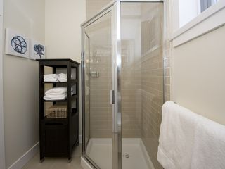 Parksville townhome photo - 3rd Bathroom with stand alone shower on Main Level