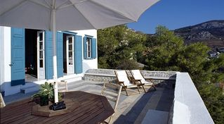 Hydra Island villa photo - Relax on very private terrace