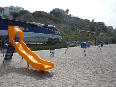 San Clemente apartment rental - The North Beach play area