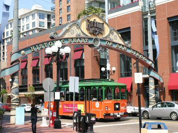 Gaslamp district 8 miles away