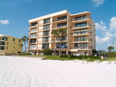 Madeira Beach condo rental - View from the beach