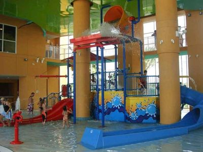 Your children will love this indoor water park!