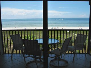 Sanibel Island condo photo - View from Great Room Looking out torwards the Beach