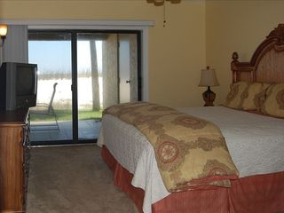 Perdido Key condo photo - Elegant King Master Suite With Beach Front Balcony!