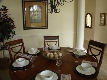 Stylish formal dining room