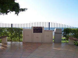 Cabo Rojo apartment photo - BBQ and sink at pool area.