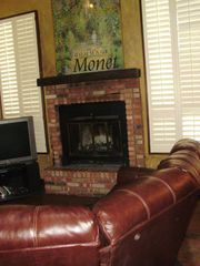 Durango condo photo - WOOD BURNING FIREPLACE