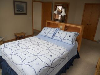 Jacksonport house photo - Master Bedroom has a Queen Bed that is positioned under a Sky Lite.