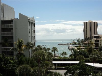 View of the Gulf from Front Entrance to Unit