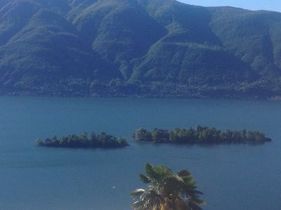 Romantic holiday house, at the Lago Maggiore, lake view, garden and garage