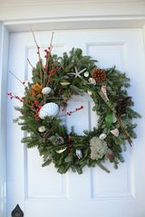 Truro cottage photo - Christmas wreath after a Thanksgiving Beach walk. Everything is from our beach!
