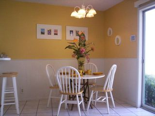 South Padre Island condo photo - Beautiful dining area.