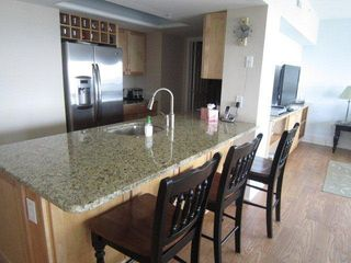 Wrightsville Beach condo photo - Modern Kitchen with Granite Countertops
