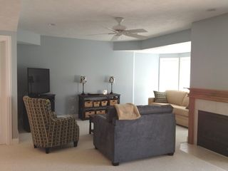 Manistee condo photo - Lower level living area
