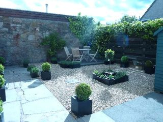 St Andrews & North Fife apartment photo - Secluded Courtyard Garden with BBQ