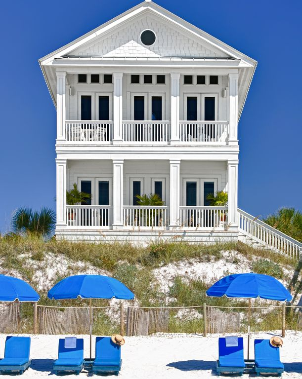 Rosemary Beach area; GulfFront; PRIVATE POOLheated;Elevator;Beach access=private