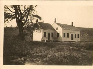 Wellfleet house photo - A long time ago