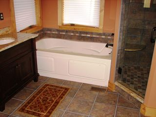 Lake Wallenpaupack house photo - Master Bath