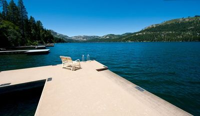 Beautiful, Quiet Home Right on Donner Lake with Private Dock